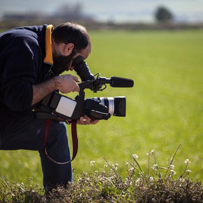 Reporter/Kameramann